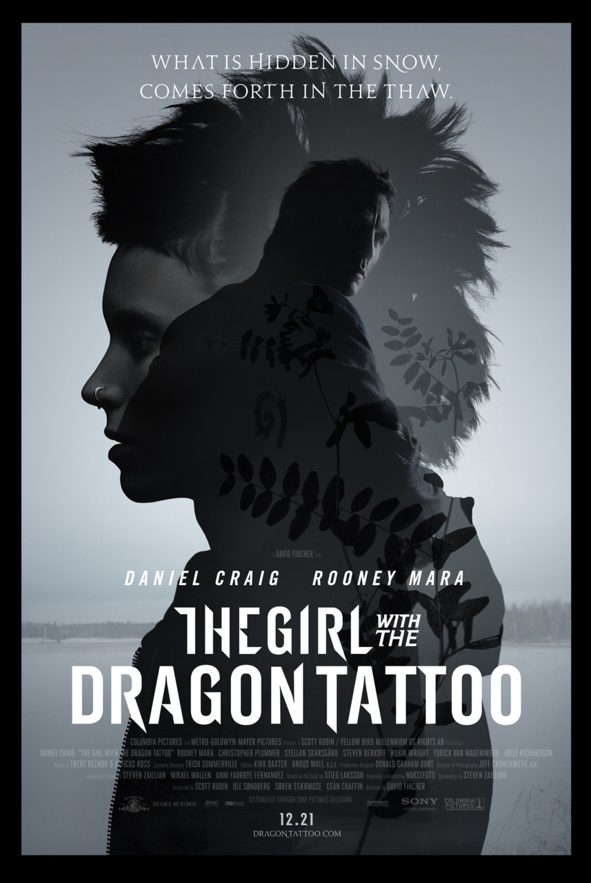 The Girl With The Dragon Tattoo [2011] | Let's talk about movies