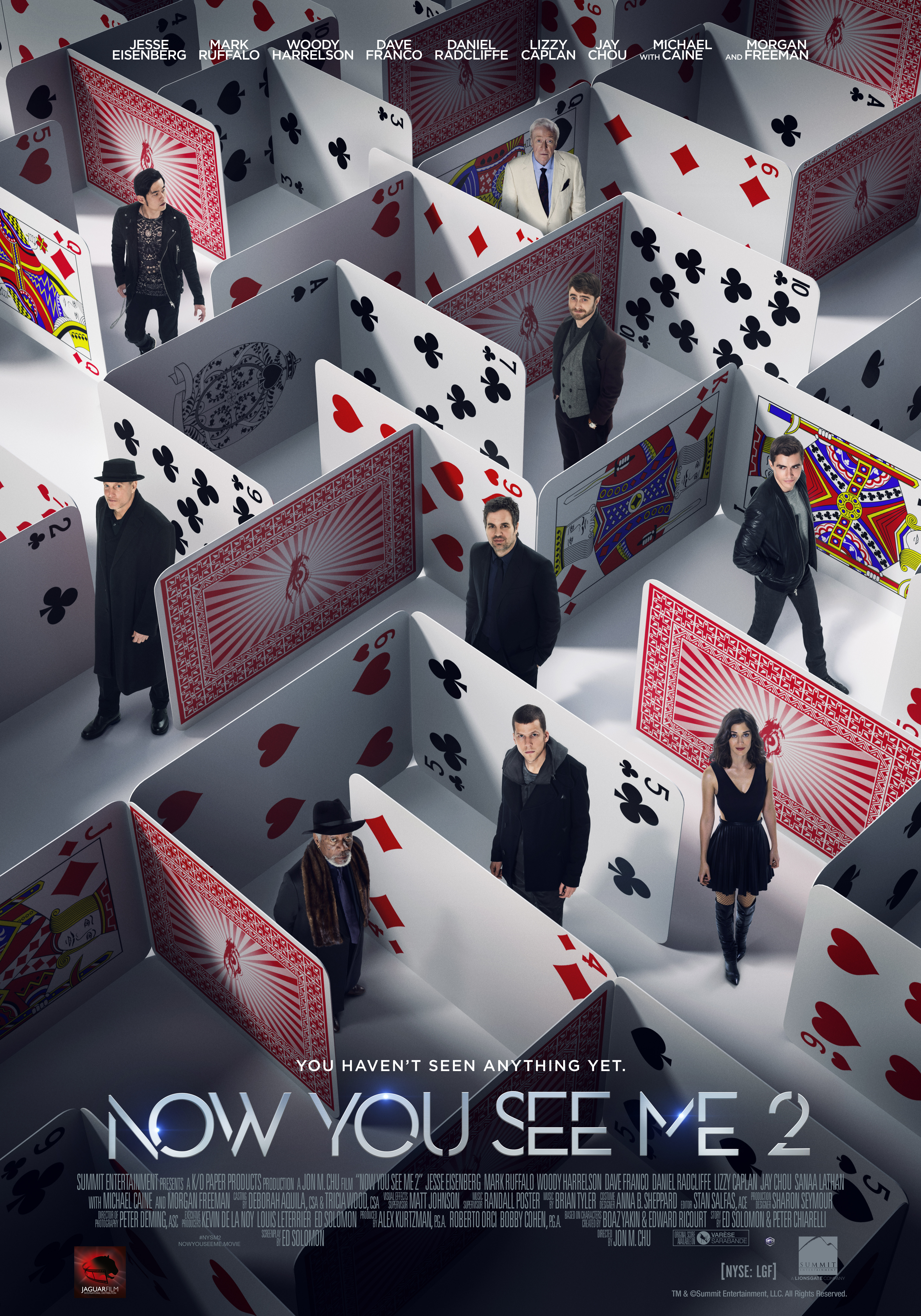 Now You See Me 2 [2016] ★★½